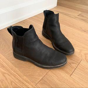 Roots Waterproof Leather Booties